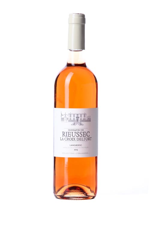 """Domaine de Rieussec : vin rosé de la collection """"Orangerie"""""""