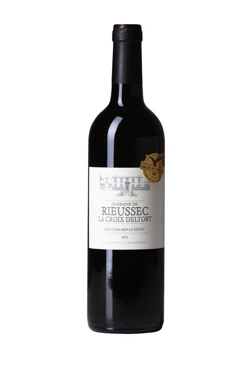 """Domaine de Rieussec : vin rouge de la collection """"Orangerie"""""""