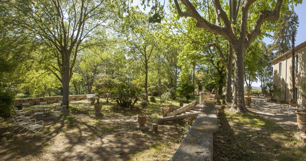 Rieussec location de jardin