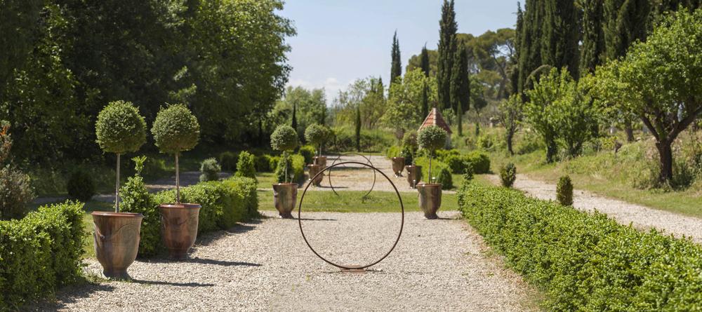 Visite des Jardins à la française et à l'anglaise au Domaine de Rieussec