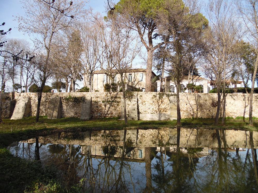 Plan d'eau - jardins du Domaine de Rieussec - Gignac 34