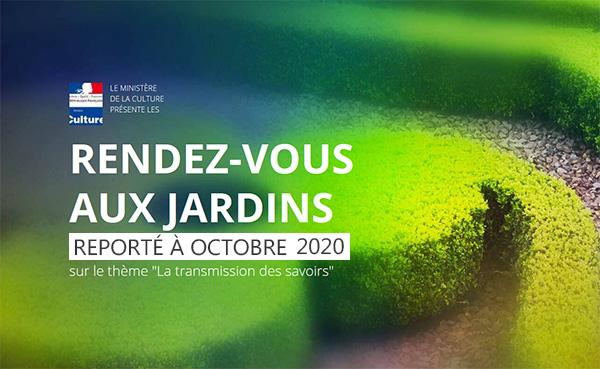 Rendez-vous aux Jardins 2020