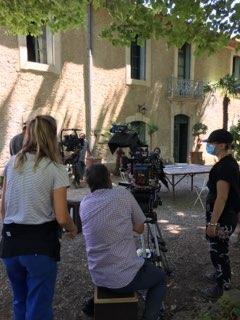 Tournage au Domaine de Rieussec de Tandem, série policière