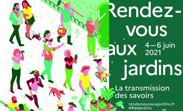 Rendez-vous aux jardins 2021 - Domaine de Rieussec